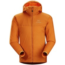 Arc'teryx Atom LT Hooded Jacket - Polartec® Power Stretch®, Insulated (For Men) in Rusted Copper - Closeouts