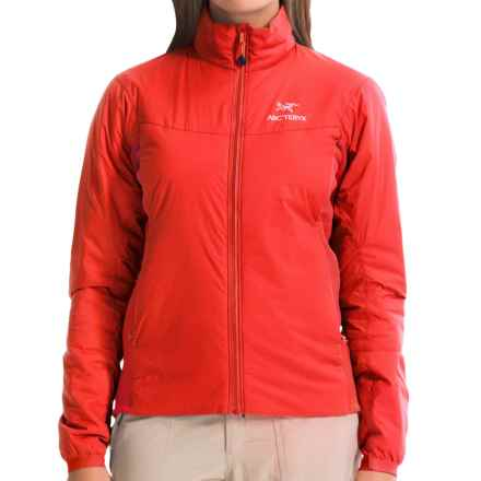 Arc'teryx Atom LT Jacket - Polartec® Power Stretch®, Insulated (For Women) in Firefly - Closeouts