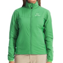 Arc'teryx Atom LT Jacket - Polartec® Power Stretch®, Insulated (For Women) in Lime Fizz - Closeouts