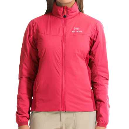 Arc'teryx Atom LT Jacket - Polartec® Power Stretch®, Insulated (For Women) in Pink Guava - Closeouts