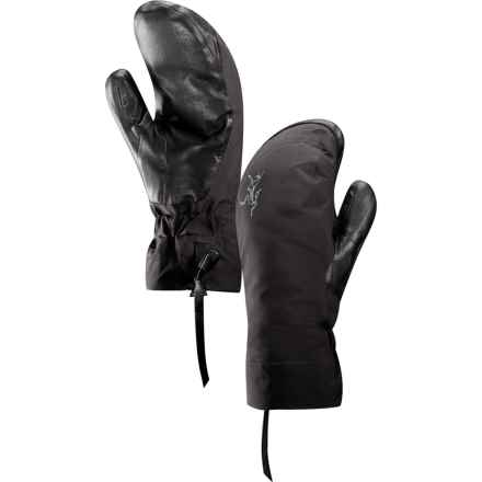 Arc'teryx Beta All-Round Gore-Tex® Mittens - Waterproof, Insulated (For Women) in Black - Closeouts