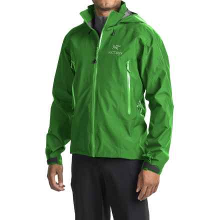 Arc'teryx Beta AR Gore-Tex® Jacket - Waterproof (For Men) in Hylidae - Closeouts