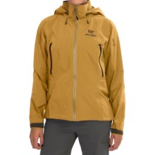 Arc'teryx Beta AR Gore-Tex® Jacket - Waterproof (For Women) in Egyptian Gold - Closeouts