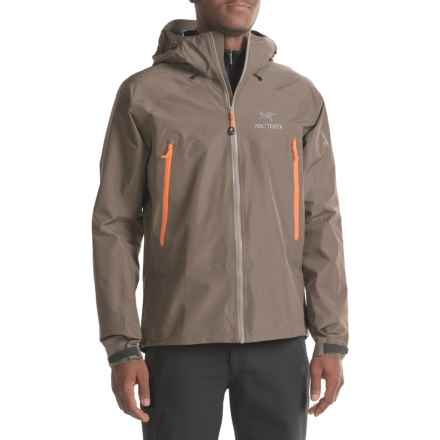 Arc'teryx Beta LT Gore-Tex® Jacket - Waterproof (For Men) in Basalt - Closeouts