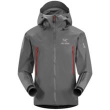 Arc'teryx Beta LT Gore-Tex® Jacket - Waterproof (For Men) in Iron Anvil - Closeouts