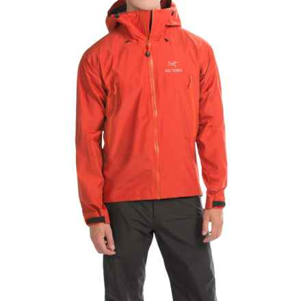 Arc'teryx Beta LT Gore-Tex® Jacket - Waterproof (For Men) in Vermillion - Closeouts