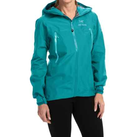 Arc'teryx Beta LT Gore-Tex® Jacket - Waterproof (For Women) in Cerulean - Closeouts