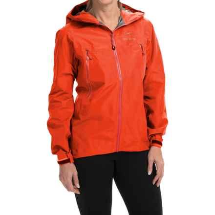 Arc'teryx Beta LT Gore-Tex® Jacket - Waterproof (For Women) in Fiesta - Closeouts