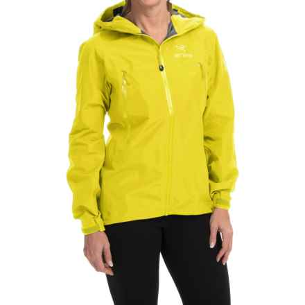 Arc'teryx Beta LT Gore-Tex® Jacket - Waterproof (For Women) in Lemon Zest - Closeouts