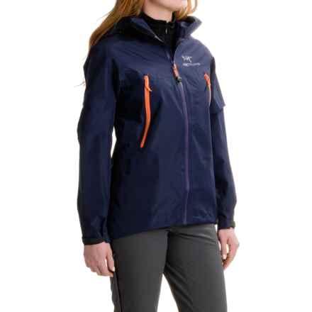 Arc'teryx Beta LT Gore-Tex® Jacket - Waterproof (For Women) in Marianas - Closeouts