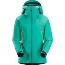 Arc'teryx Beta LT Gore-Tex® Jacket - Waterproof (For Women) in Seaglass - Closeouts
