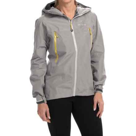 Arc'teryx Beta LT Gore-Tex® Jacket - Waterproof (For Women) in Sterling Silver - Closeouts