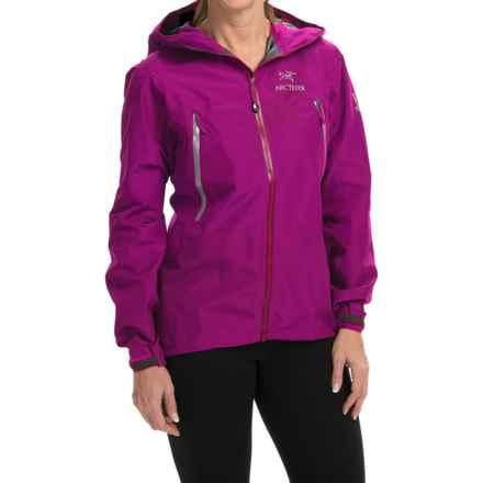 Arc'teryx Beta LT Gore-Tex® Jacket - Waterproof (For Women) in Violet Wine - Closeouts