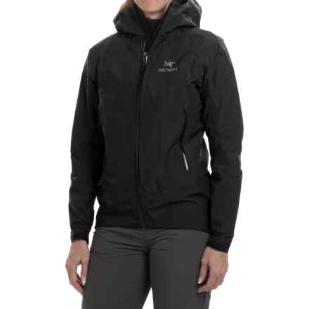 Arc'teryx Beta SL Gore-Tex® PacLite® Jacket - Waterproof (For Women) in Black - Closeouts