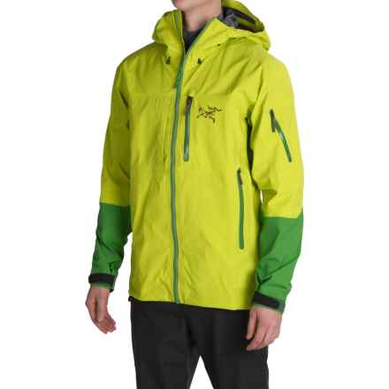 Arc'teryx Caden Gore-Tex® Pro Ski Jacket - Waterproof (For Men) in Green Boa - Closeouts