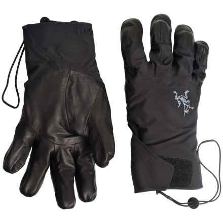 Arc'teryx Caden Gore-Tex® Ski Gloves - Waterproof, Removable Insulated Liner (For Men) in Black - Closeouts