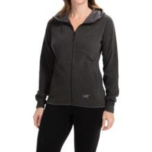 Arc'teryx Caliber Jacket - Polartec® Classic Microfleece (For Women) in Black - Closeouts