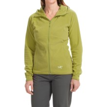Arc'teryx Caliber Jacket - Polartec® Classic Microfleece (For Women) in Opuntia - Closeouts