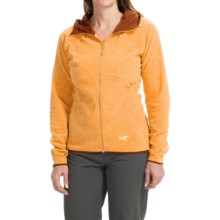 Arc'teryx Caliber Jacket - Polartec® Classic Microfleece (For Women) in Papaya - Closeouts