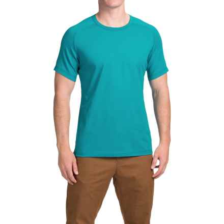 Arc'teryx Captive T-Shirt - Short Sleeve (For Men) in Blue Tetra - Closeouts