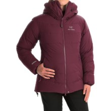 Arc'teryx Ceres Windstopper® Down Jacket - 850 Fill Power (For Women) in Cherrywine - Closeouts