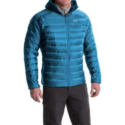 Arc'teryx Cerium LT Down Hooded Jacket - 850 Fill Power (For Men) in Adriatic Blue - Closeouts