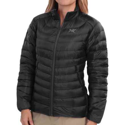 Arc'teryx Cerium LT Down Jacket - 850 Fill Power (For Women) in Black - Closeouts