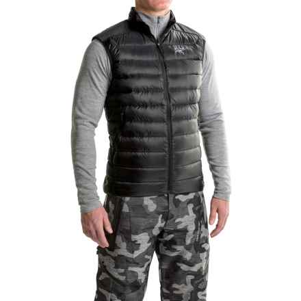 Arc'teryx Cerium LT Down Vest - 850 Fill Power (For Men) in Black - Closeouts