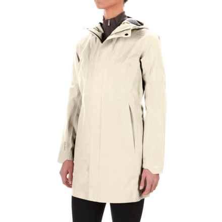 Arc'teryx Codetta Gore-Tex® Rain Coat - Waterproof (For Women) in Vintage Ivory - Closeouts