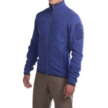 Arc'teryx Covert Cardigan Jacket - Polartec® (For Men) in Corvo Blue - Closeouts