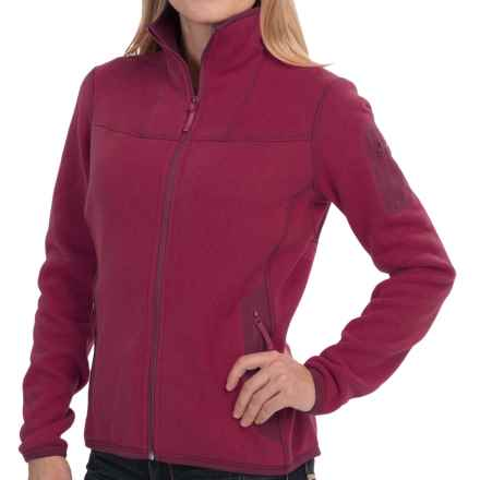 Arc'teryx Covert Cardigan Sweater (For Women) in Zinfandel - Closeouts