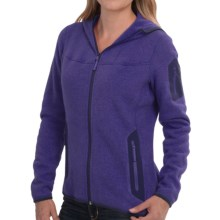 Arc'teryx Covert Fleece Hooded Jacket (For Women) in Azulene - Closeouts