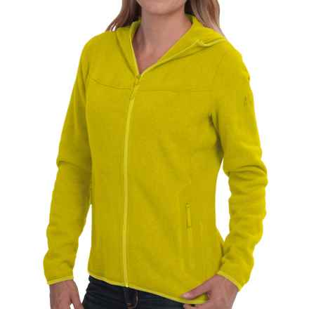Arc'teryx Covert Fleece Hooded Jacket (For Women) in Fennel - Closeouts