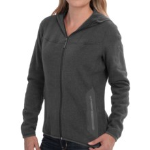 Arc'teryx Covert Fleece Hooded Jacket (For Women) in Iron Anvil - Closeouts