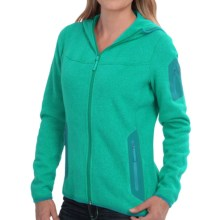 Arc'teryx Covert Fleece Hooded Jacket (For Women) in Seaglass - Closeouts