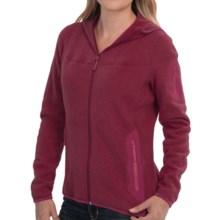 Arc'teryx Covert Fleece Hooded Jacket (For Women) in Zinfandel - Closeouts