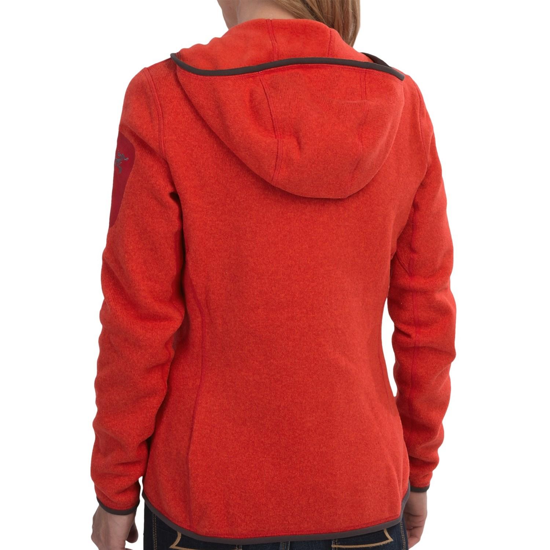 Arc'teryx Covert Fleece Hooded Jacket (For Women) - Save 49%