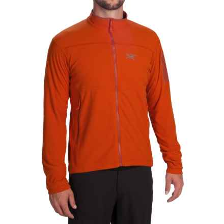 Arc'teryx Delta LT Polartec® Fleece Jacket (For Men) in Iron Oxide - Closeouts