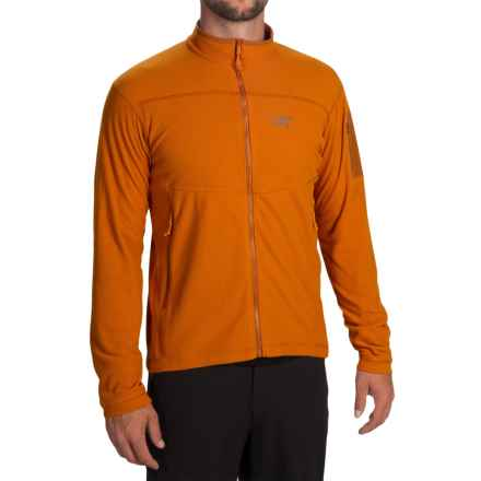 Arc'teryx Delta LT Polartec® Fleece Jacket (For Men) in Rusted Copper - Closeouts