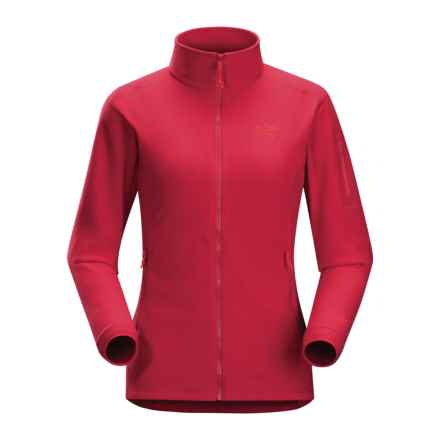 Arc'teryx Delta LT Polartec® Fleece Jacket (For Women) in Tamarillo - Closeouts