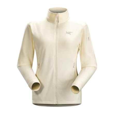 Arc'teryx Delta LT Polartec® Fleece Jacket (For Women) in Vintage Ivory - Closeouts