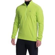 Arc'teryx Delta LT Polartec® Fleece Shirt - Zip Neck, Long Sleeve (For Men) in Mantis Green - Closeouts