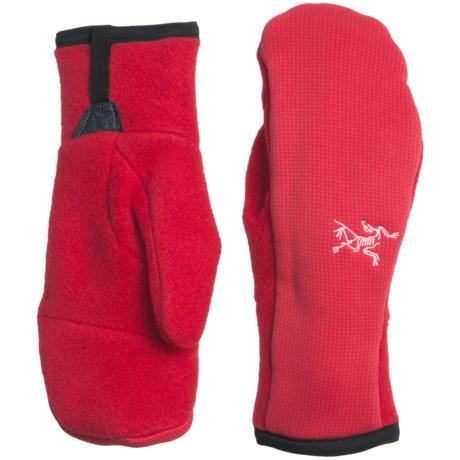 Arc'teryx Delta Polartec® Fleece Mittens - Insulated (For Women) in Tourmaline