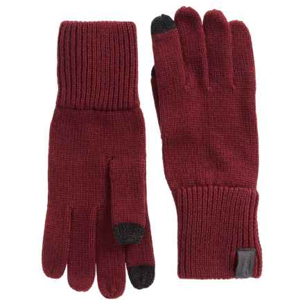 Arc'teryx Diplomat Merino Wool Gloves - Touchscreen Compatible (For Men and Women) in Rosa/Aramon - Closeouts