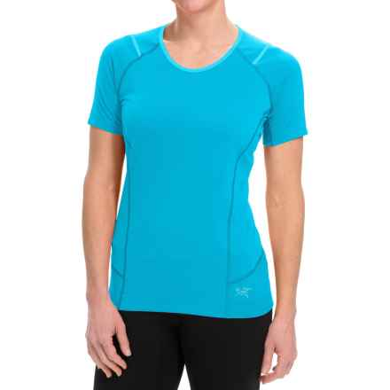 Arc'teryx Ensa Shirt - Short Sleeve (For Women) in Vultee Blue - Closeouts