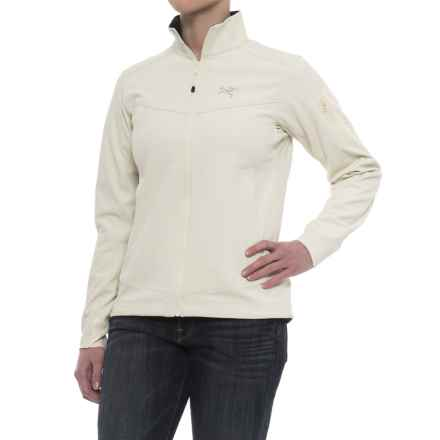 Arc'teryx Epsilon LIGHT Jacket (For Women) in Vintage Ivory - Closeouts