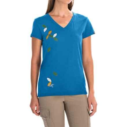 Arc'teryx Flutter T-Shirt - Short Sleeve (For Women) in Antilles Blue - Closeouts