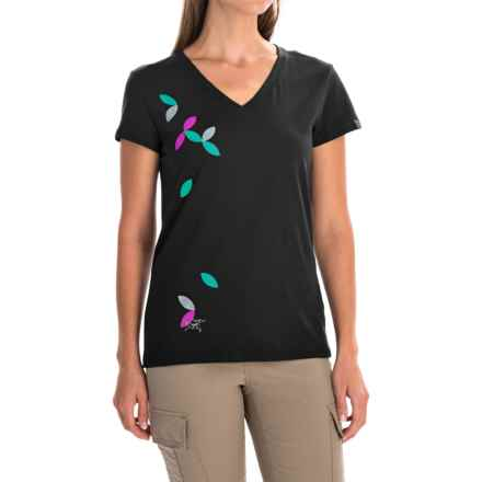 Arc'teryx Flutter T-Shirt - Short Sleeve (For Women) in Black - Closeouts