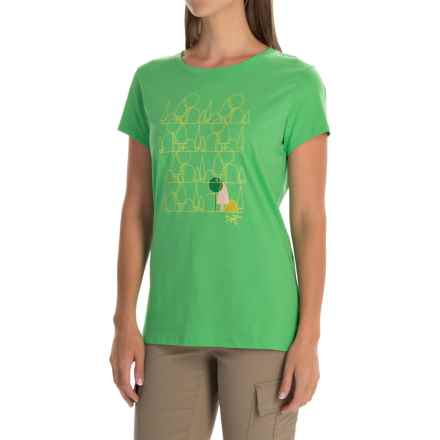 Arc'teryx Forest Form T-Shirt - Short Sleeve (For Women) in Green Orchid - Closeouts