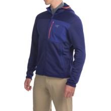Arc'teryx Fortrex Polartec® Power Stretch® Fleece Hoodie - Full Zip (For Men) in Azul - Closeouts